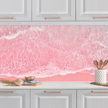 Rivestimento cucina - Oceano in rosa
