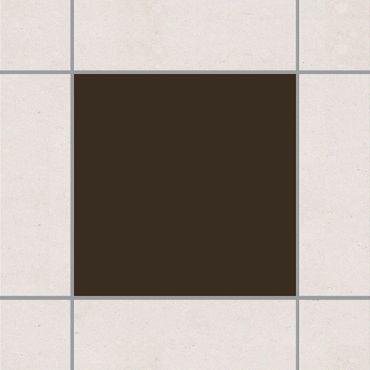 Adesivo per piastrelle - Brown 30cm x 60cm