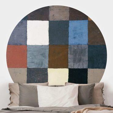 Carta da parati rotonda autoadesiva - Paul Klee - cartella colori
