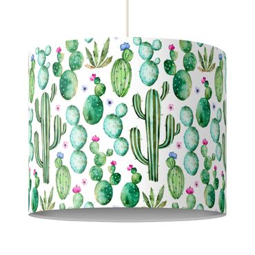 Lampadario design - Watercolor Cactus