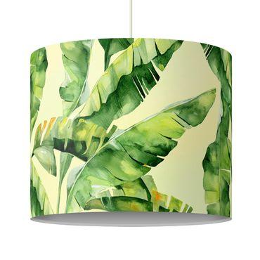 Lampadario design - Banana Leaves Watercolor