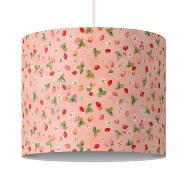 Lampadario design - The Strawberry Fairy - Strawberry Flowers