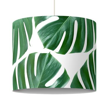 Lampadario design - Tropical Green Leaves Monstera