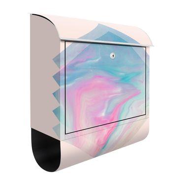 Cassetta postale - Acqua rosa di marmo