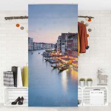 Tenda a pannello - Evening on Grand Canal in Venice 250x120cm
