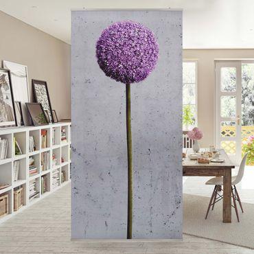 Tenda a pannello Allium globular flowers 250x120cm
