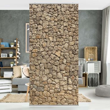Tenda a pannello Antique Cobblestone 250x120cm