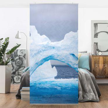 Tenda a pannello Antarctic iceberg 250x120cm