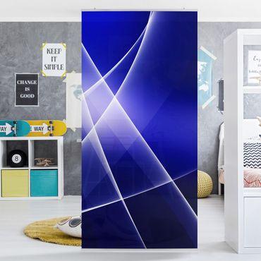 Tenda a pannello Blue Disco 250x120cm