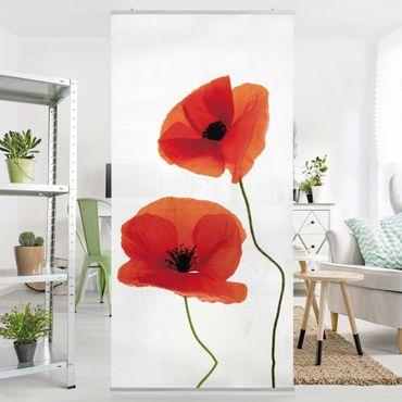 Tenda a pannello Charming Poppies 250x120cm