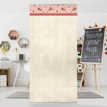 Tenda a pannello - The Strawberry Fairy - Strawberry Pattern - 250x120cm