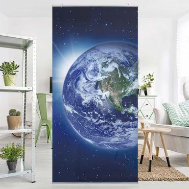 Tenda a pannello Earth in Space 250x120cm