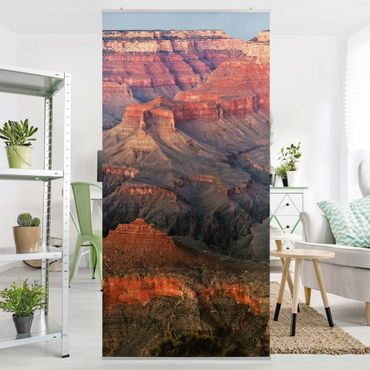 Tenda a pannello Grand Canyon after sunset 250x120cm