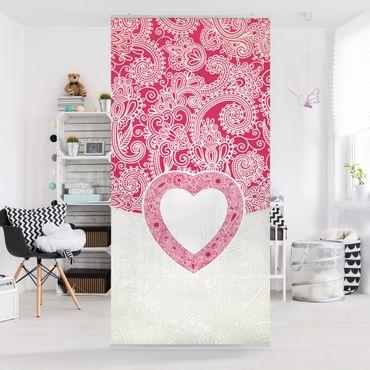 Tenda a pannello Heart Pattern 250x120cm