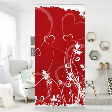 Tenda a pannello Hearts Of Flower 250x120cm