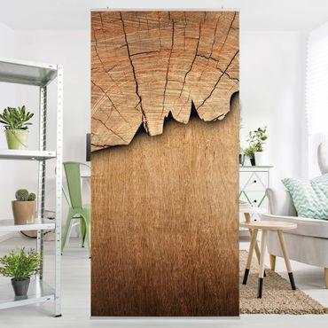 Tenda a pannello Wood structure II 250x120cm