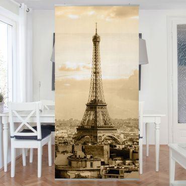 Tenda a pannello I Love Paris 250x120cm