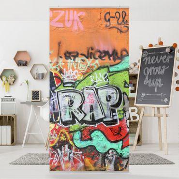 Tenda a pannello Graffiti 250x120cm