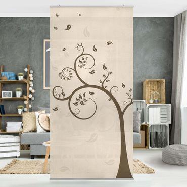 Tenda a pannello No.CA25 Autumn Tree 250x120cm