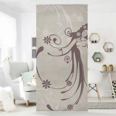 Tenda a pannello No.CA7 Floral Fairy 250x120cm