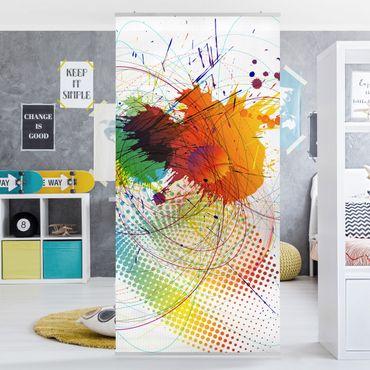 Tenda a pannello Rainbow Background 250x120cm