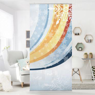 Tenda a pannello Winter Background 250x120cm