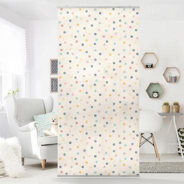 Tenda a pannello - Confetti dots pattern 250x120cm
