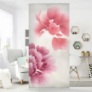 Tenda a pannello Artistic Flora II 250x120cm