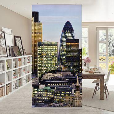 Tenda a pannello London City 250x120cm