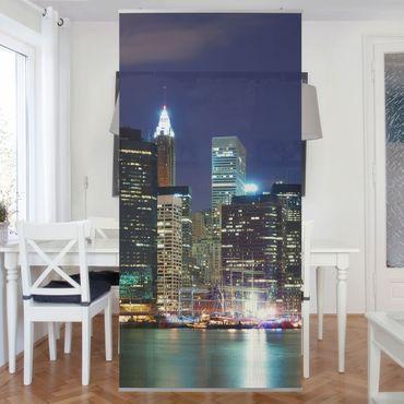 Tenda a pannello Manhattan in New York City 250x120cm