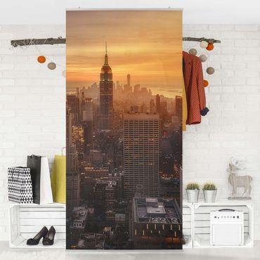 Tenda a pannello - Manhattan Skyline Evening - 250x120cm