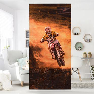 Tenda a pannello - Motocross in the Dust - 250x120cm