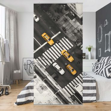 Tenda a pannello - I taxi di New York - 250x120cm