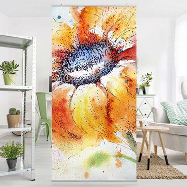 Tenda a pannello Painted Sunflower 250x120cm