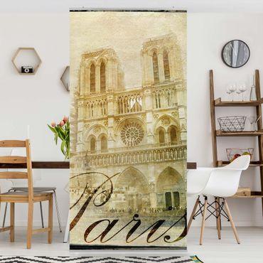 Tenda a pannello Paris Mon Amour 250x120cm