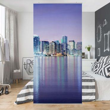 Tenda a pannello Purple Miami Beach 250x120cm