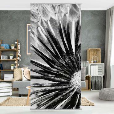 Tenda a pannello Dandelion Black & White 250x120cm
