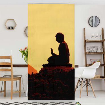 Tenda a pannello Resting Buddha 250x120cm