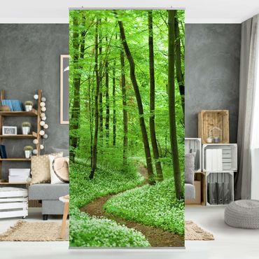 Tenda a pannello Romantic Forest Track 250x120cm