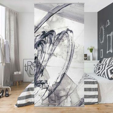 Tenda a pannello - Sonar Black and White I - 250x120cm