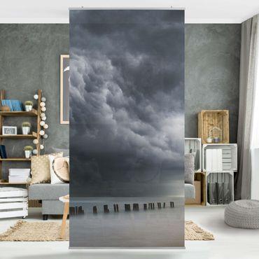 Tenda a pannello - Nubi di tempesta sul Mar Baltico - 250x120cm