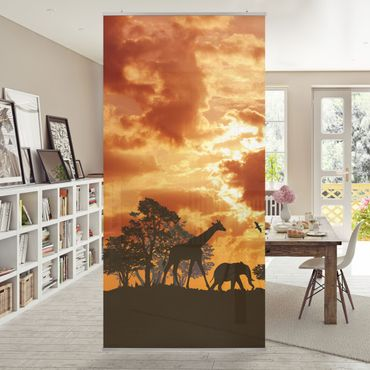 Tenda a pannello Tanzania Sunset 250x120cm