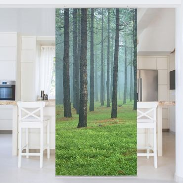 Tenda a pannello - Deep forest with pines on La Palma 250x120cm