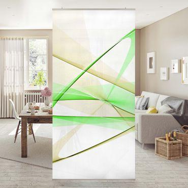 Tenda a pannello Transparent Waves 250x120cm