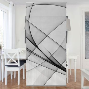 Tenda a pannello Winter Shapes 250x120cm