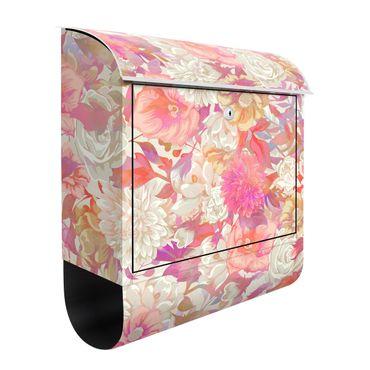 Cassetta postale - Fioritura rosa da sogno con rose