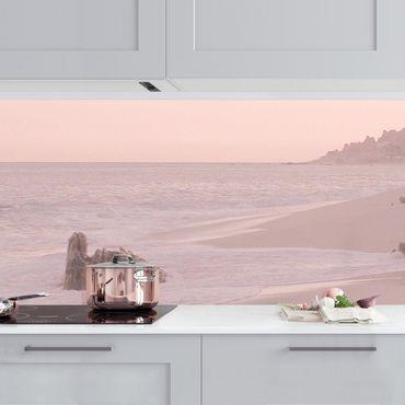 Rivestimento cucina - Spiaggia oro rosa