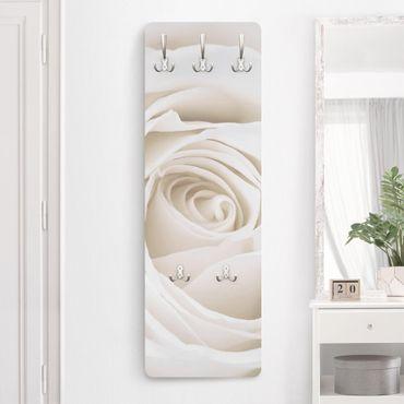 Appendiabiti - Pretty White Rose