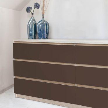 Carta Adesiva per Mobili - Colour Cocoa