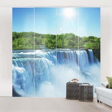 Tende scorrevoli set - Waterfall Scenery